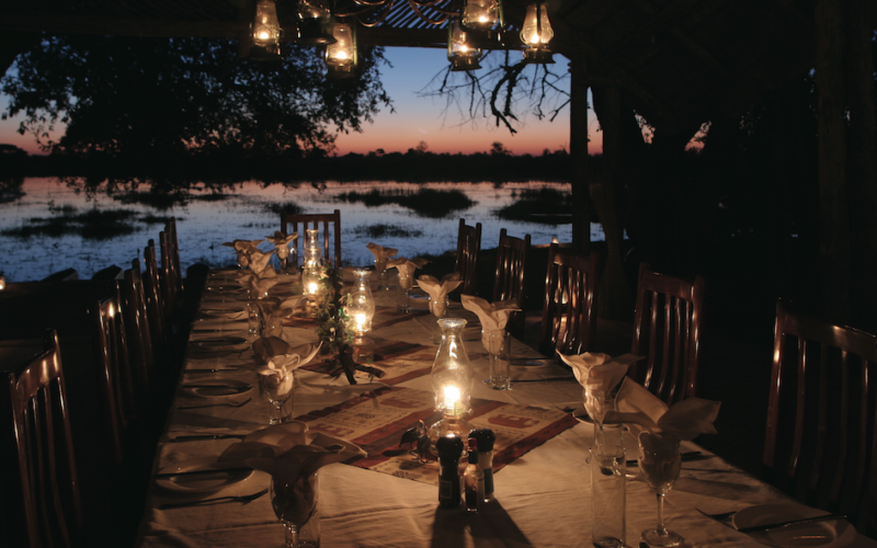 Bush Dining in Africa