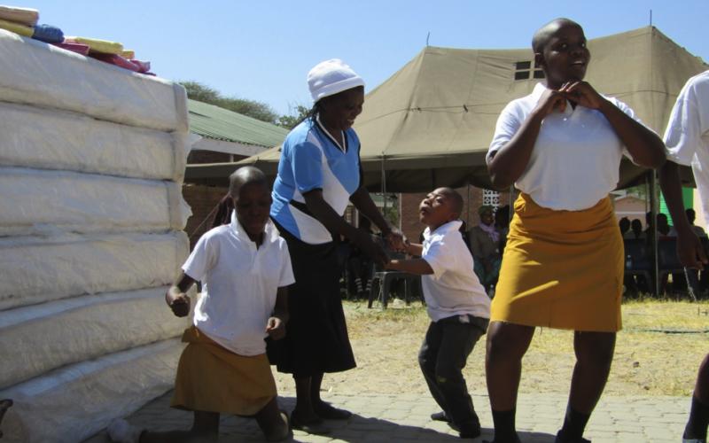 Chobe Safari Lodge Shows Support to the Kachikau Special Unit School
