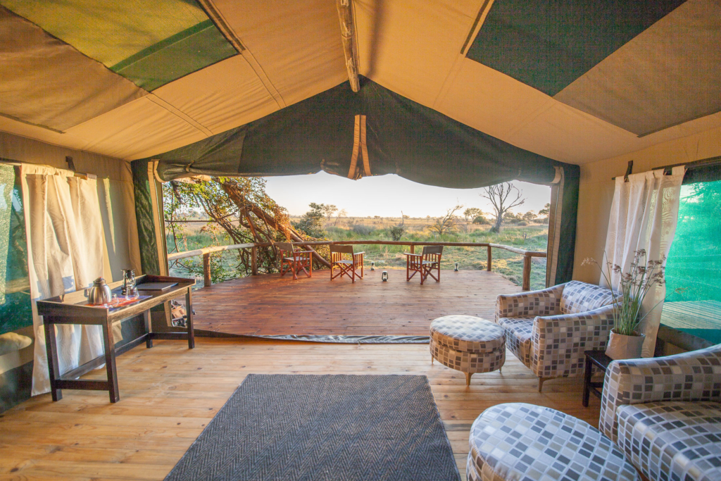 New Rra Dinare camp accomodation