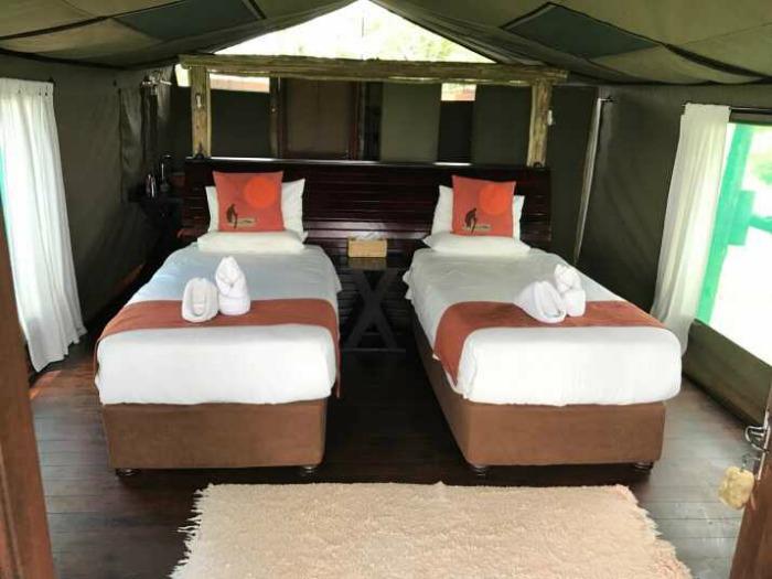 Botswana Okavango safari Moremi room 2