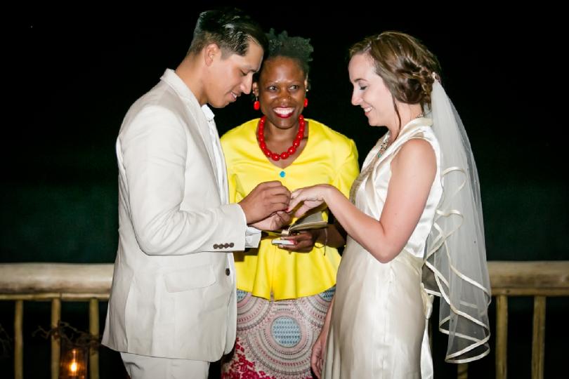 Jake & Leah's Wedding at Moremi Crossing 11