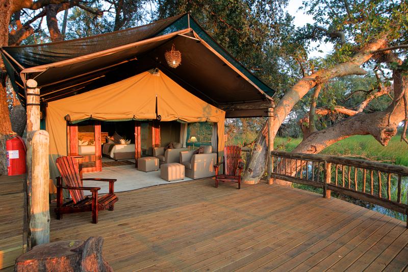 Under One Botswana Sky, Botswana, Botswana safari, Okavango Delta, Chobe Bush Lodge, Chobe Safari Lodge, Gunns Camp, Moremi Crossing, Nata Lodge, Pom Pom Camp, Mma Dinare, Rra Dinare, luxury safari accommodation