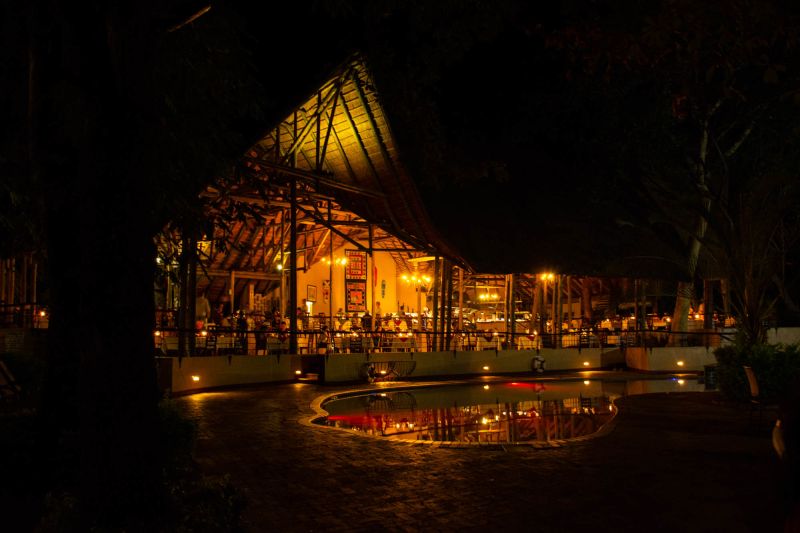 Sedudu Bar Chobe Safari Lodge Under One Botswana Sky