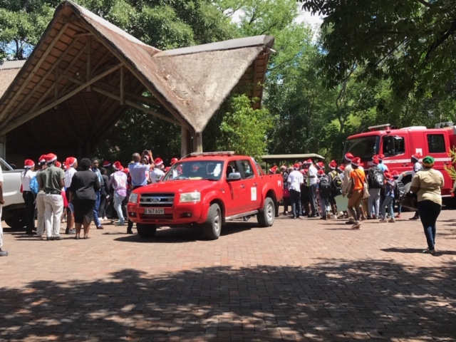 Under One Botswana Sky, Chobe Safari Lodge, Chobe National Park, Responsible Tourism, Corporate Social Responsibility, Community Empowerment, Christmas Party, Botswana, Botswana Safari, Giving Back