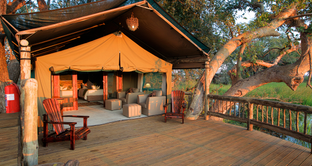 Under One Botswana Sky, Gunns Camp, Okavango Delta, Moremi Game Reserve, Botswana, Responsible Travel, Travel Review, Exclusive Accommodation in Botswana