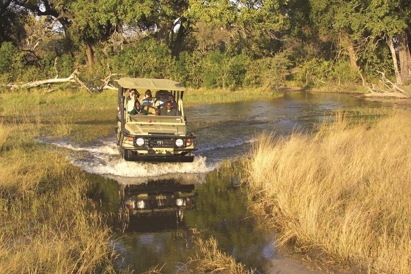 Conde Nast, Under One Botswana Sky, In the Press, Travel Review, Pom Pom Camp, Okavango Delta, Botswana Safari, low budget safari