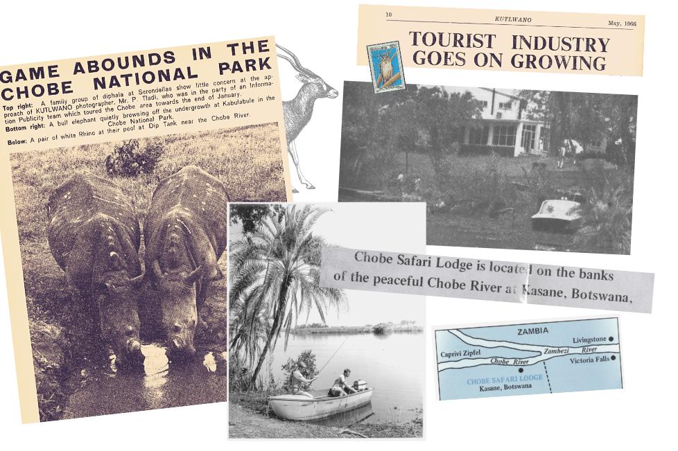 Chobe Safari Lodge History