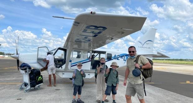 Botswana Flight
