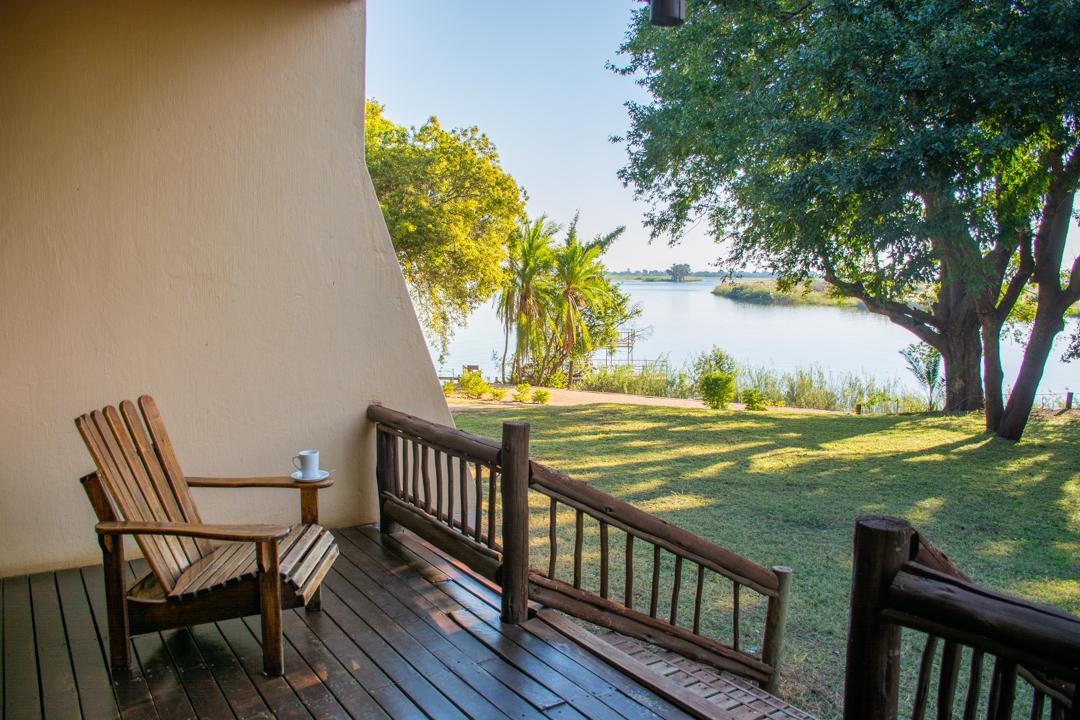 Coffee on the Chobe River